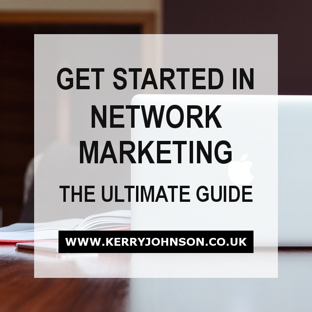 Get Started in Network Marketing