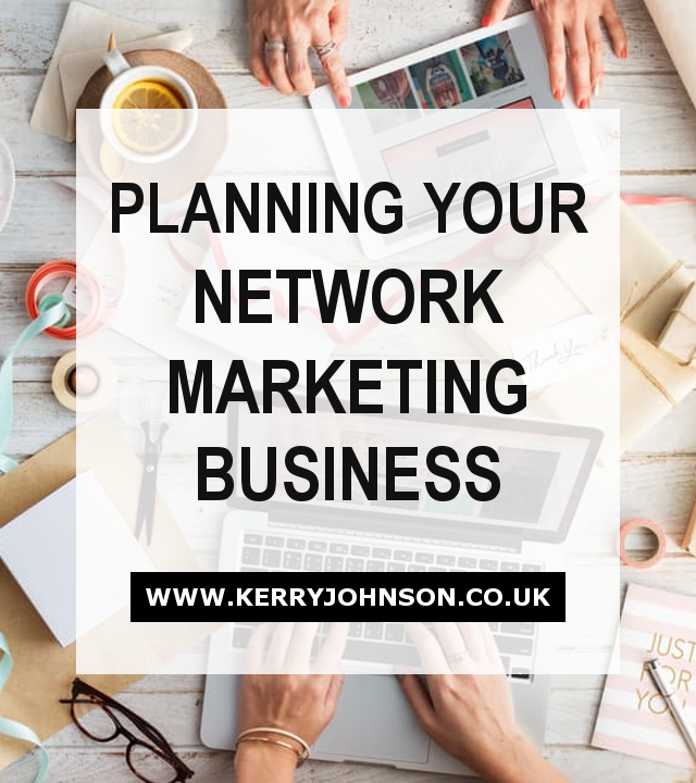 Planning Your Network Marketing Business