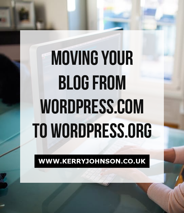 Moving Your Blog from WordPress.com to WordPress.org