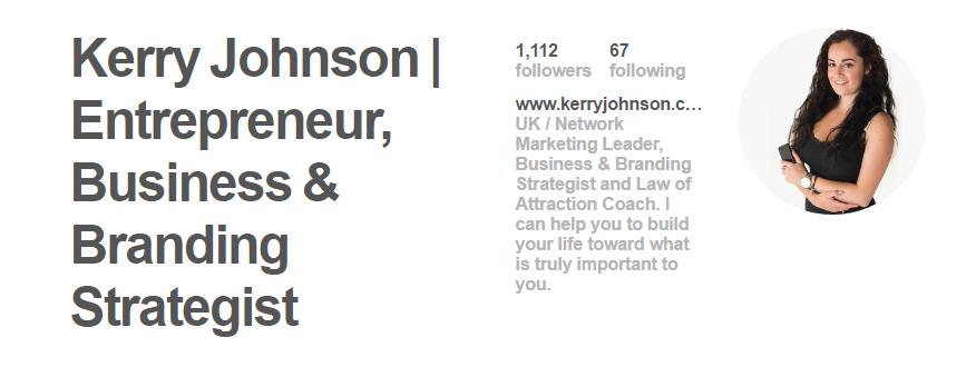 Kerry Johnson | Pinterest Profile