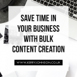 Save Time in Your Business with Bulk Content Creation