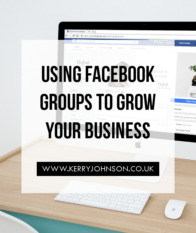 Using Facebook Groups to Grow Your Business