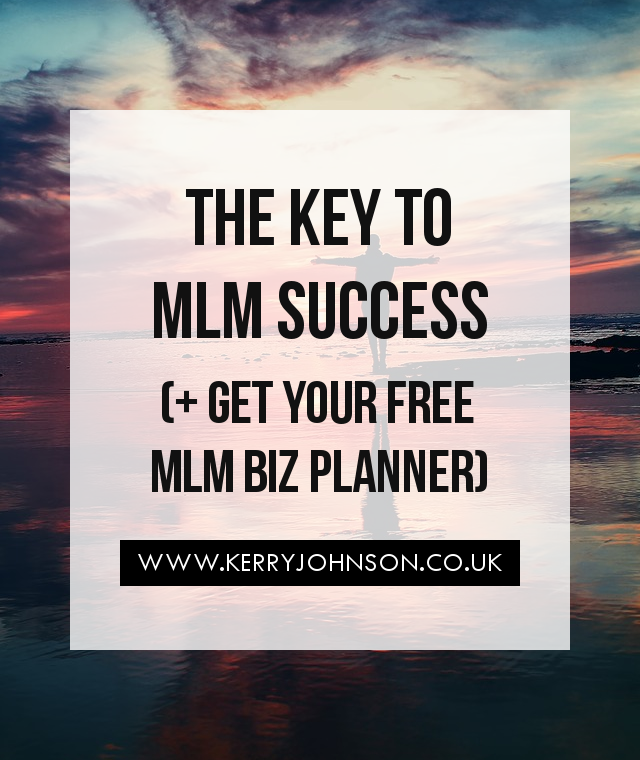 The Key to MLM Success