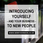 Introducing Yourself – And Your Business – to New People