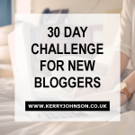 30 Day Challenge For New Bloggers
